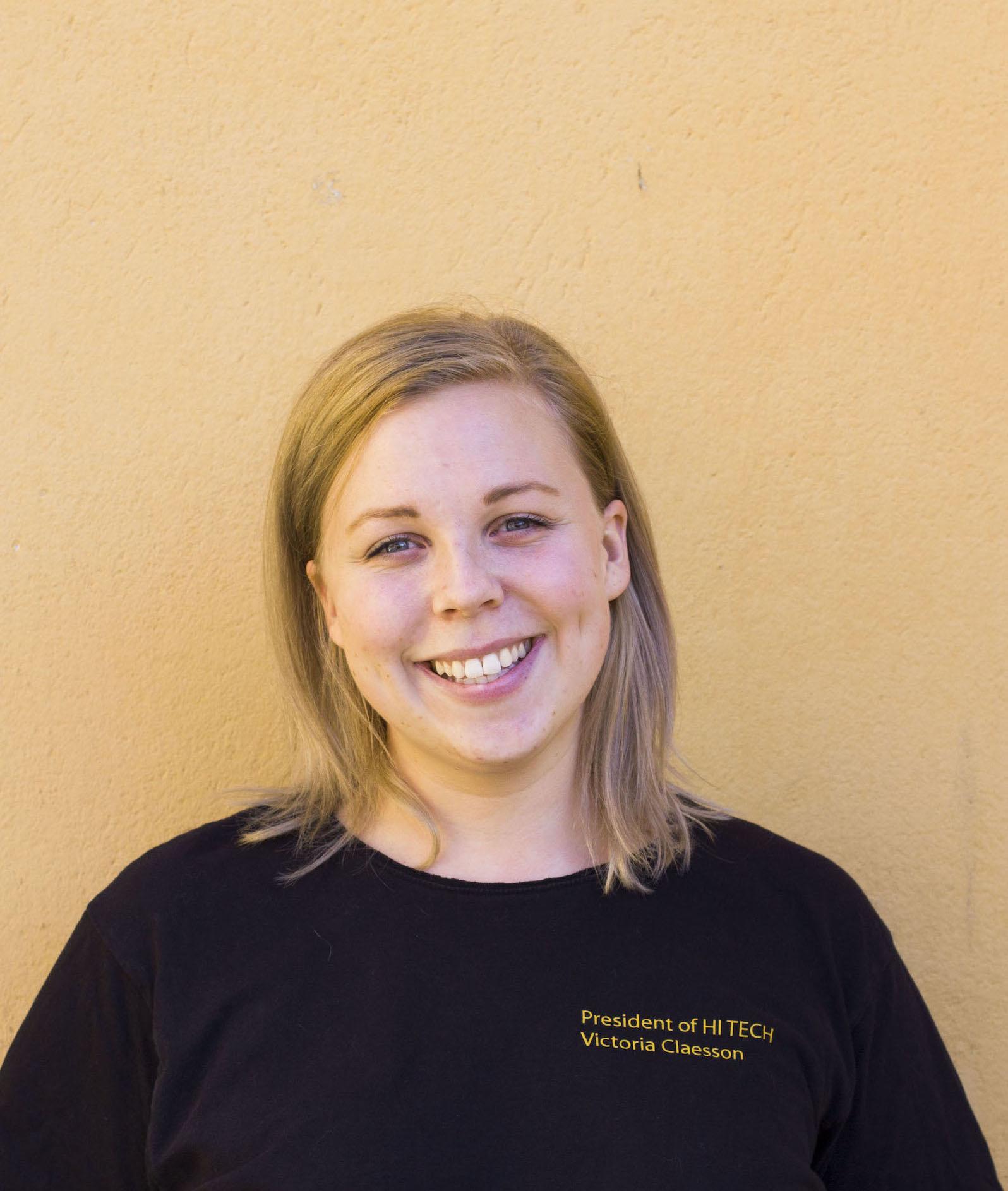 Victoria Claesson, President of HI TECH