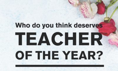 Read more about the article Teacher of the year!